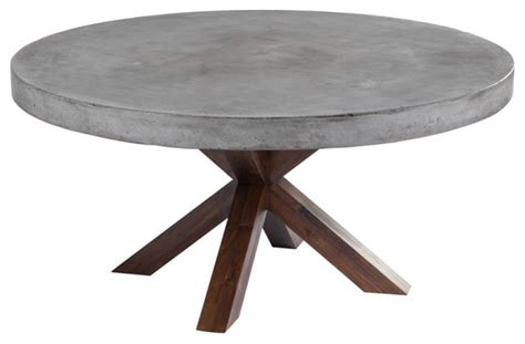 concrete edge dining table industrial dining