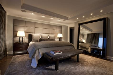 houzz modern bedroom lincoln park west master bed a