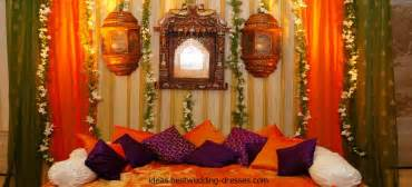 Wedding Home Decorations Indian Indian Mehndi Stage Design Amp Decoration