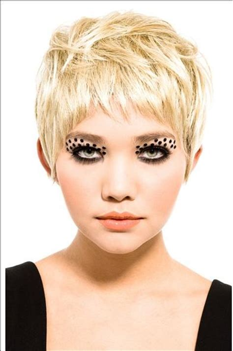 funky short fringes latest all fun things short hair style for girls