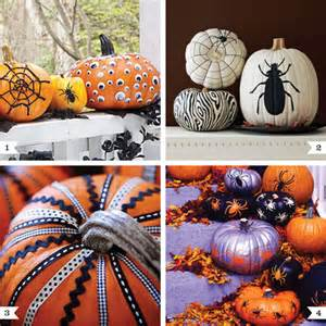 Decorated Halloween Pumpkins Without Carving No Carve Pumpkin Decor Ideas 001 Jpg Pictures To Pin On