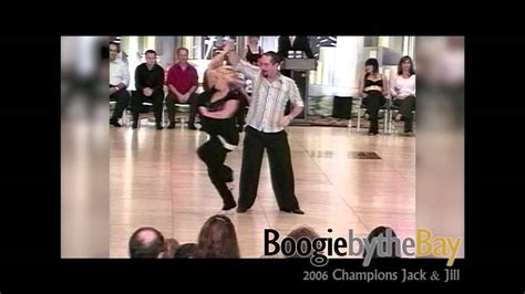 bay area west coast swing ronnie debenedetta tatiana mollmann 2006 boogie by the