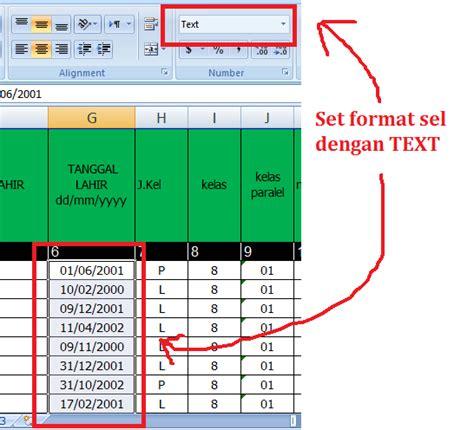 gambar format sel mts amin darussalam copy paste pada pengerjaan emis