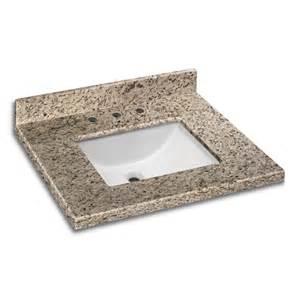 Granite Vanity Tops Pedra Granite Vanity Top With Um Trough Bowl Giallo