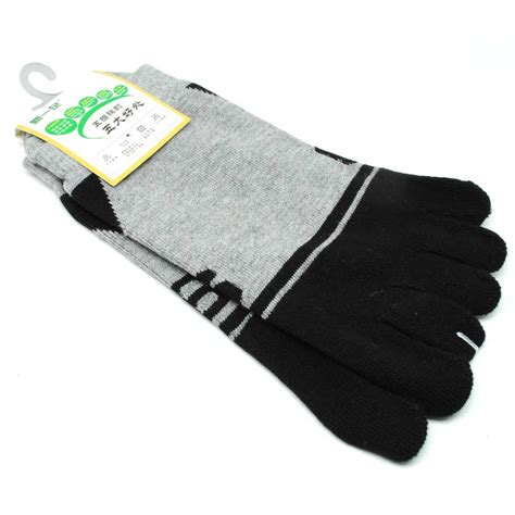 Tas Koper Mini Corak Ps 03 kaos kaki lima jari unisex corak angka 6 gray black