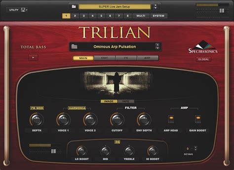 Spectrasonics Trillian Bass spectrasonics trilian westlake pro