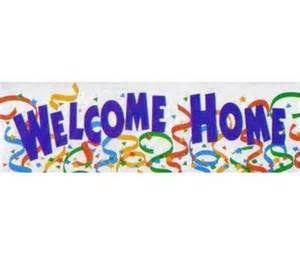 welcome home banner welcome home balloon and product distributor