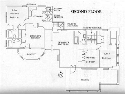 jonbenet ramsey house floor plan jonben 233 t ramsey floor plans