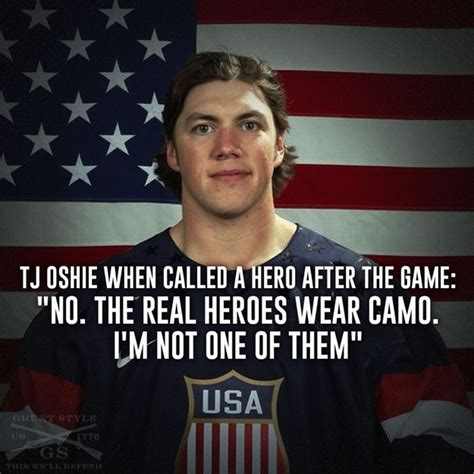 Tj Oshie Meme - tj oshie not a hero but a hell of a hockey player