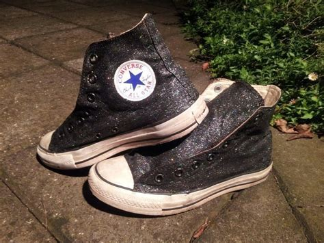 diy converse shoes diy glitter converse 183 how to decorate a pair of glitter