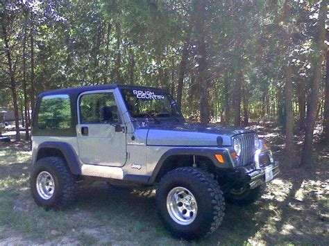 1998 Jeep Specs Roughcountry2010 1998 Jeep Wranglerse Sport Utility 2d