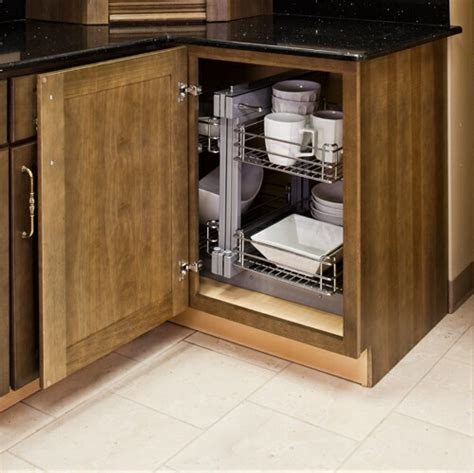 blind cabinet pull out 10 blind corner base cabinet pull out kitchen cabinet