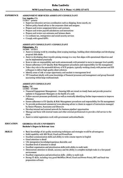 It Consultant Sle Resume by Immigration Consultant Resume Resume Ideas