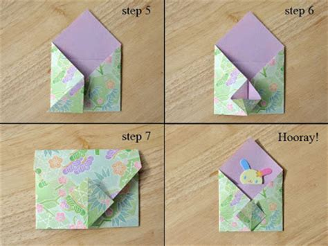 Origami Envelope Tutorial - willy nilly waterlily blythe woolly hoods an