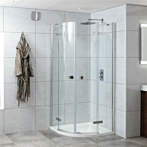 Hinged Door Shower Enclosures Idyllic 900 X 900mm Hinged Door Quadrant Enclosure 8mm Glass Shower Tray