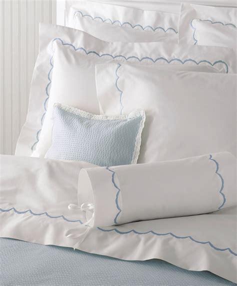 scalloped bedding matouk scallop sheets scallop bedding by matouk