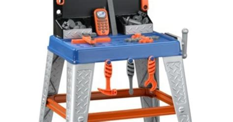 my very own tool bench my very own workbench playset by american plastic toys