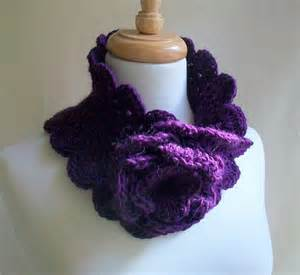 Crocheted neck warmer pattern pictures and photo long crocheted neck