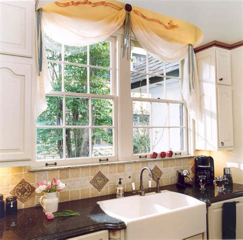 kitchen sink window treatments window treatments for bay kitchen sink