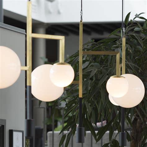 moderne leuchter moderner d 233 co kugel leuchter mit downlight spot casa