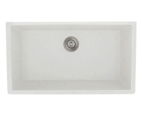 White Undermount Kitchen Sinks Single Bowl 848 White Large Single Bowl Undermount Trugranite Kitchen Sink
