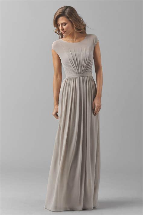 Bridesmaid Dresses by Watters Emily 8548i Bridesmaid Dress Bateau Neckline