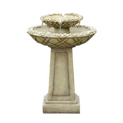 fountain cellar bird bath outdoor water fountain fcl