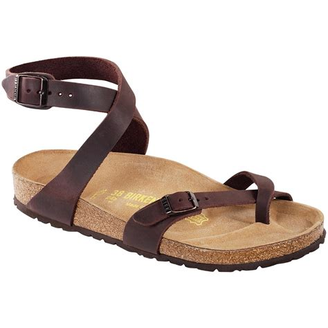 birkenstock womens sandals birkenstock yara leather sandals s evo