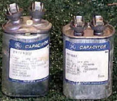 problem       capacitor  bad  unit