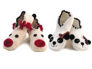 womens novelty slippers womens novelty slipper socks panda reindeer ballet