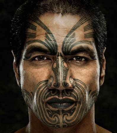 facial moko – beauty around the world.
