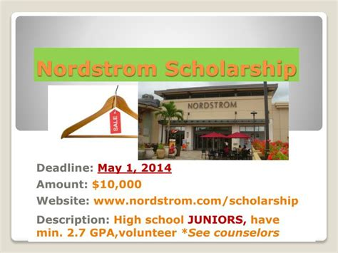 Fil A Scholarship Letter Of Recommendation Ppt Union Grove High School Powerpoint Presentation Id 2622163