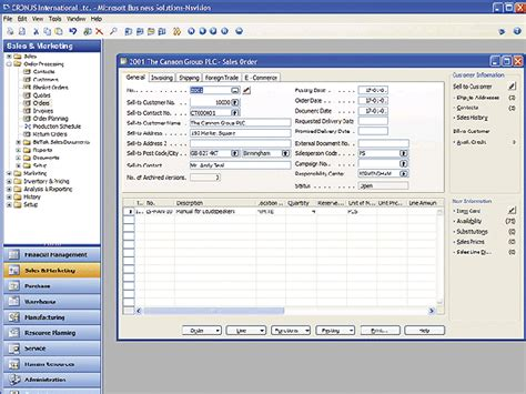 Microsoft Navision microsoft dynamics nav software review business software