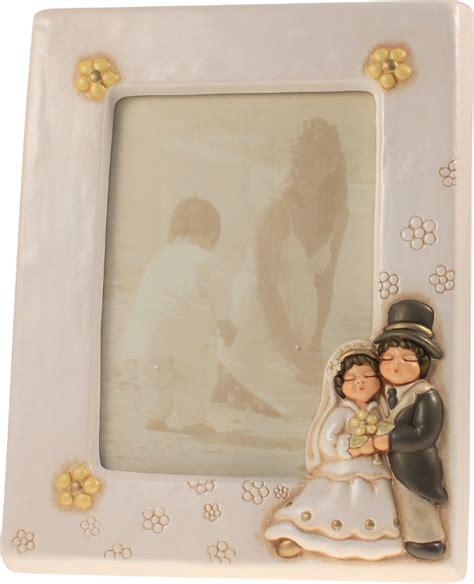 cornici della thun portafoto matrimonio sposini thun