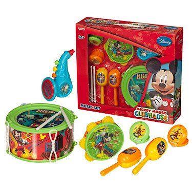 Disney Mickey Mouse Musical Set 11 la maison de mickey set musical 7 instruments de