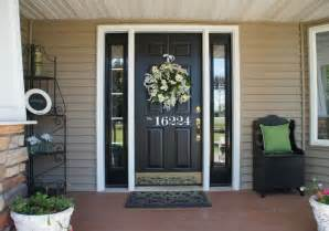 Front porches the doors and black front doors on pinterest