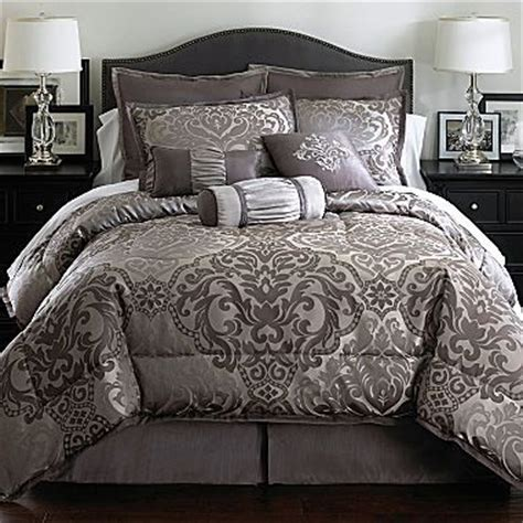 jcpenney comforter set richmond 7 pc comforter set jcpenney home goodies