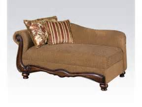 Livingroom Chaise Acme Furniture Living Room Chaise 50312 Gallery