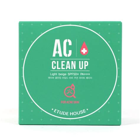 Harga Etude House Ac Clean Up Mild Bb Cushion etude house ac clean up mild bb cushion review