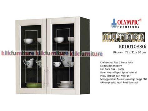 Tarikan Lemari Kitchen Set 12cm Promo Termurah kkd 010880 2 pintu atas harga kitchen set olympic mutiara