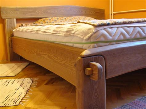 brown locust live edge bed allwoodjoinery by