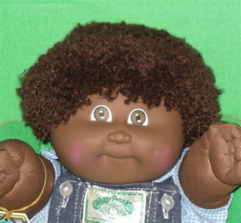 black doll boy 1983 black cabbage patch boy doll in box brown 3