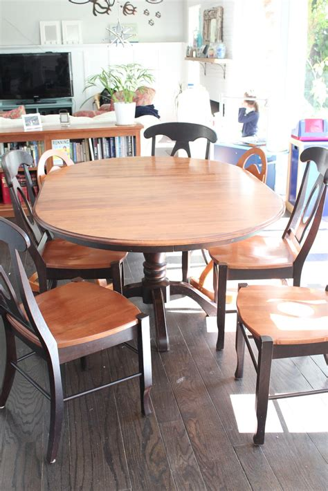 Refinish Dining Room Table Top How To Refinish Dining Room Table Home Design Ideas