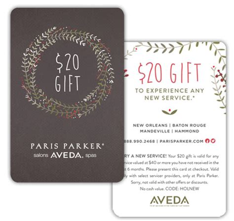 Gift Cards For Clients - holiday 2014 im marketing group an aveda partner