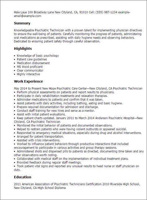 psychiatrist report template professional psychiatric technician templates to showcase