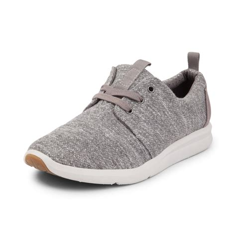 shoes for womens womens toms casual shoe gray 350202