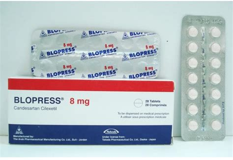 Blopress 8mg by Blopress 8 Mg 28 Tab Price From Seif In Yaoota