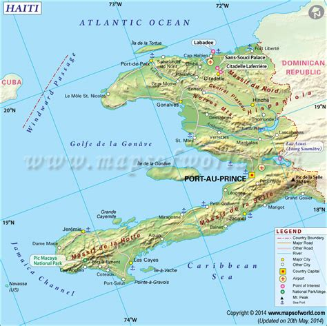 map of haiti haiti map map of haiti