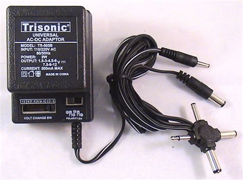 6 Volt 5 Dc Power Supply by Universal Ac To Dc Power Supply Wall Adapter 3v 4 5v