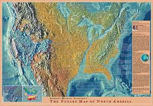 edgar cayce future map of america global warming and vs blue nuke s